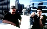 Larry Wachowski Photo -  the Matrix Directors Andy_larry Wachowski Supplied by Rangefinder  Globe Photosinc