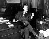 Nelson Rockefeller Photo - Nelson Rockefeller in His Office at the National Defense Council 11191940 HeGlobe Photos Inc