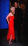 Allison Sweeney Photo - 2002 Daytime Emmy Awards NYC 051702 Photo by John KrondesGlobe Photos Inc 2002 Allison Sweeney Matt Cedeno
