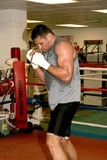 Andrew Golata Photo - Andrew Powerful Pole Golatas Sparring Session As He Trains For His Fight Against John the Quiet Man Riuz (the Fight Is to Take Place Saturday November 13th) New York City 11082004 Photo Rick Mackler  Rangefinders  Globe Photos Inc