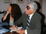 Stephanie Zimbalist Photo - K33957MR EFREM ZIMBALIST JR - UNVEILING OF GOLDEN GUN AND FBI BADGE FROM THE HIT SERIES THE FBI PRESENTED TO EFREM ZIMBALIST JR BY J EDGAR HOOVER AT THE HOLLYWOOD HISTORY MUSEUM HOLLYWOOD CA 11112003 PHOTO BY MILAN RYBA  GLOBE PHOTOS INC  2003 EFREM ZIMBALIST JR AND STEPHANIE ZIMBALIST