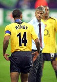 Arsene Wenger Photo - Thierry Henry  Arsene Wenger 2006 League Champions-barcelona Vs Arsenal Paris France 05-17-2006 Photo by Michael Mayhew-allstar-Globe Photos Inc 2006