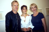 Sting Photo - Celebrities Out and About at the Lehmann Maupin Gallery New York City 11-05-2005 Photo Rose Hartman-Globe Photos Inc 2005 Sting Trudie Styler Tracey Emin