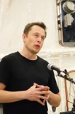 ELON MUSK Photo - Press Conference at Space Xs Test Facility Celebrating the Safe Return of the Dragon Space Capsule in Mcgregortexas on 06132012elon Musk Space X Ceo and Founder of Paypal Photo by Jeff J Newman-Globe Photos Inc