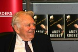 Andy Rooney Photo - Andy Rooney From Cbs 60 Minutes Signs Copies of His Book Out of My Mind at Borders Books at Time Warner Center New York City 12-18-2006 Photo by William Regan- Globephotos Inc