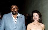 Rosey Grier Photo - Rosey Grier and Jacqueline Kennedy Onassis Photo Bybob NobleGlobe Photos Inc 1977 Jacquelinekennedyonassisretro