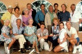 Don Ameche Photo - CocoonWilfred Brimley Tahnee Welch  Maureen Stapleton   Brian Denhenny  Steve Guttenberg  Jack Gilford Don Ameche Herta Ware Hume Cronyn Jessica Tandy Ron Howard (Director) and Gwen VerdonPhoto Supplied By Rangefinders - Globe Photos Inc  WILFREDBRIMLEYRETRO
