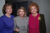 Audrey Meadows Photo - Audrey Meadows with Joan Rivers and Joyce Randolph 1992 L4159 Photo by Cp-Globe Photos Inc