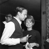 Inger Stevens Photo - Inger Stevens Thomas Frank Mankiewicz at King Pat premieresupplied by Globe Photos Inc