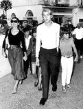 Jacqueline Kennedy Onassis Photo - Jacqueline Kennedy Onassis in Capri 1970 25859 Supplied by Globe Photos Inc