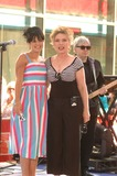 Harris Allen Photo - Nbcs Today Show Toyota Concert Series at Rockefeller Plaza in New York City on 05-25-2007 Photo by Ken Babolcsay-ipol-Globe Photos Inc Lily Allen with Deborah Harry of Blondie