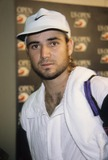 Andre Agassi Photo - Andre Agassi Us Open 1992 A9485 Photo by Adam Scull-Globe Photos Inc