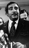 Jeff Taylor Photo - Charles Rangel in Washington DC Holding Nixons Tax Forms 072174 Photo by Jeff TaylorGlobe Photosinc
