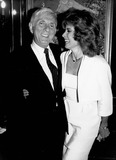 Aaron Spelling Photo - Aaron Spelling with Stephanie Powers 1984 Supplied by Rangefinders-Globe Photos Inc