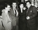 Buddy Hackett Photo - Buddy Hackett and Wife Sherry Photo by SmpGlobe Photos Inc Buddyhackettretro