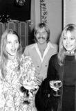 Helmut Berger Photo - Terry Melcher with Ann Marshall and Michele Phillips at the Press Party For Helmut Berger   Beverly Hills Hotel 1-13-1970 6783 Photo by Phil RoachipolGlobe Photos Inc Terrymelcherretro Dorisdayrretro