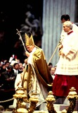 John Paul Photo - Pope John Paul Ii in Rome at St Peters Basilica Photo M Bastone  Globe Photos Inc 1993