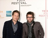 AARON WOODLEY Photo - 26 April 2008 - New York NY USA - Aaron Woodley and Russell Schaumburg attends world premiere presentation of film TENNESSEE at 7th Annual Tribeca Film Festival  Screening took place at Tribeca Performing Arts Center(BMCC)  Photo Credit  Anthony G MooreGlobe PhotosK57890AGM