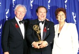 Carroll OConnor Photo - 48th Annual Emmy Awards Jean Stapleton_carroll Oconnor_rip Torn Photo by Lisa Rose-Globe Photosinc Jeanstapletonretro
