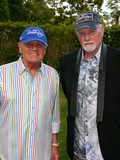 The Beach Boys Photo - Bruce Johnston and Mike Love at the Beach Boys Concert at Guild Hall Guild Hall East Hampton NY July 3 2015 Photos by Sonia Moskowitz Globe Photos Inc