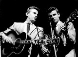 Don Everly Photo - Phil and Don Everly Everly Brothers Photo Bycharles StewartGlobe Photos Inc
