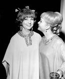 Agnes Moorehead Photo - Agnes Moorehead with Debbie Reynolds Photo by Globe Photos Inc