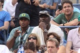 Ahmad Rashad Photo - Michael Jordenahmad Rashad Celebrity at Day 12 of Tennis Us Open at Arthur Ashe Stadium 9-6-2014 John BarrettGlobe Photos