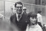 Christopher Reeve Photo - Margot Kidder with Christopher Reeve Photo by Bob Deutsch-Globe Photos Inc
