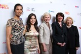 Atifete Jahjaga Photo - The 5th Annual Women in the World Summit David H Koch Theater Lincoln Center NYC April 3 2014 Photos by Sonia Moskowitz Globe Photos Inc Padma Lakshmi America Ferrera Tina Brown Atifete Jahjaga (President of Kosovo)