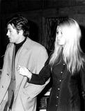 Alain Delon Photo - Brigitte Bardot and Alain Delon 4744 Ipol Archivei1188ipolGlobe Photos Inc Brigittebardotretro