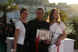 Abdellatif Kechiche Photo - Palme Dor Winners Lea Seydoux (l-r) Abdellatif Kechiche and Adele Exarchopoulos Pose at the Winners Photo Call During the 66th Cannes International Film Festival at Palais Des Festivals in Cannes France on 26 May 2013 Photo Alec Michael