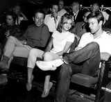 Andy Williams Photo - Andy Williams Hayley Mills and Richard Chamberlain D834-2a Globe Photos Inc