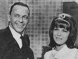 Nancy Sinatra Photo - Nancy Sinatra with Father Frank sinatrasupplied by Globe Photos Inc