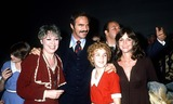 Andrea McArdle Photo - Dorothy London_burt Reynolds_andrea Mcardle_sally Field_don Delouise Photo by Art Zelin  Globe Photosinc